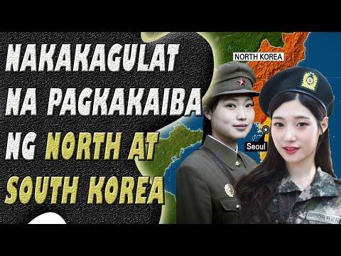 Pagkakaiba Ng North At South Korea   Jevara PH