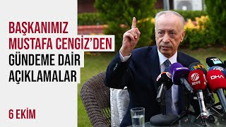 📺 Başkanımız Mustafa Cengiz'den gündeme dair açıklamalar
