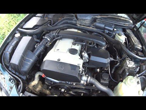 Запуск двигателя мерседес м111 после ремонта
