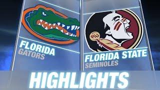 Florida vs Florida State | 2014 ACC Football Highlights