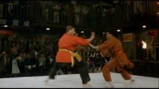 Bloodsport: Fight scenes.