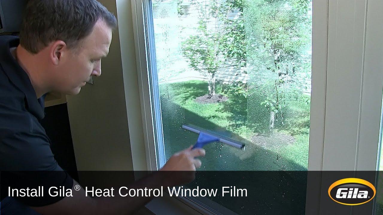 how to apply window film gila