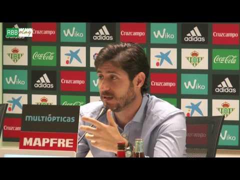 Rueda de prensa de Víctor Sánchez del Amo previa al Betis-Valencia