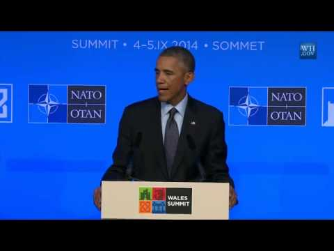 "Obama:""We Will Defend Every Ally"" - Full Post-NATO News Conference"
