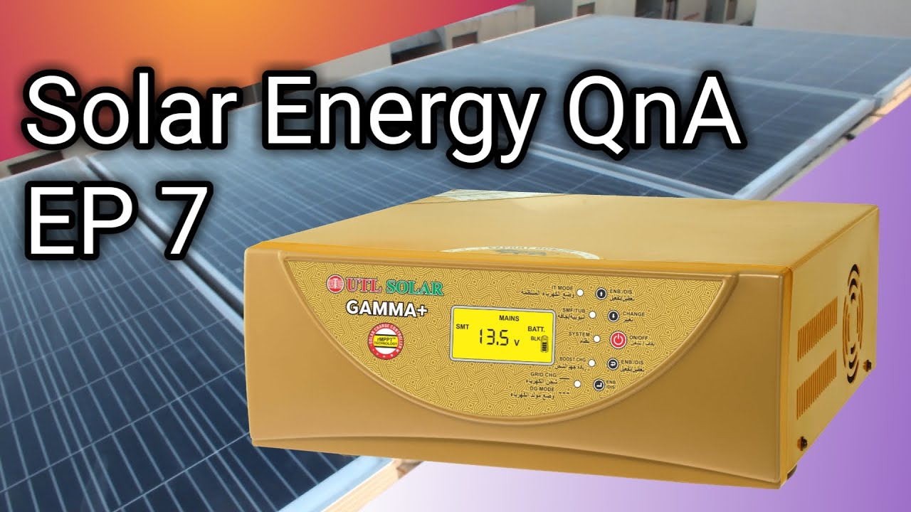 Solar Energy QnA EP7 About DOST System ,Battery Sizing, DOD, 60 Cell vs 72 Cell Panels(Hindi & Eng)