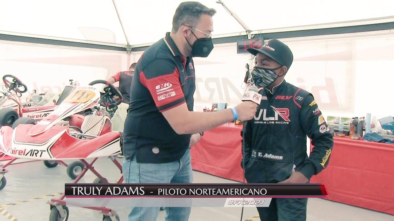 Entrevista Truly Adams Fecha 1 Fórmula Karts 2021
