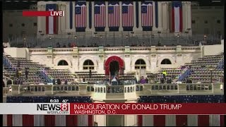 Inauguration Day Timeline