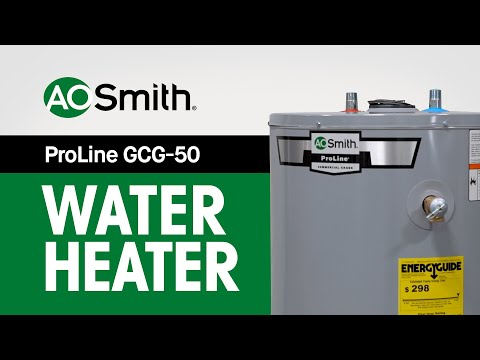 A.O. Smith ProLine GCG-50 Water Heater