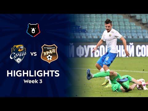 Sochi Ural Goals And Highlights