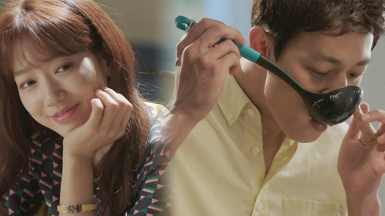 Park Shin Hye S Impressed By Kim Rae Won S Good Cooking Skills