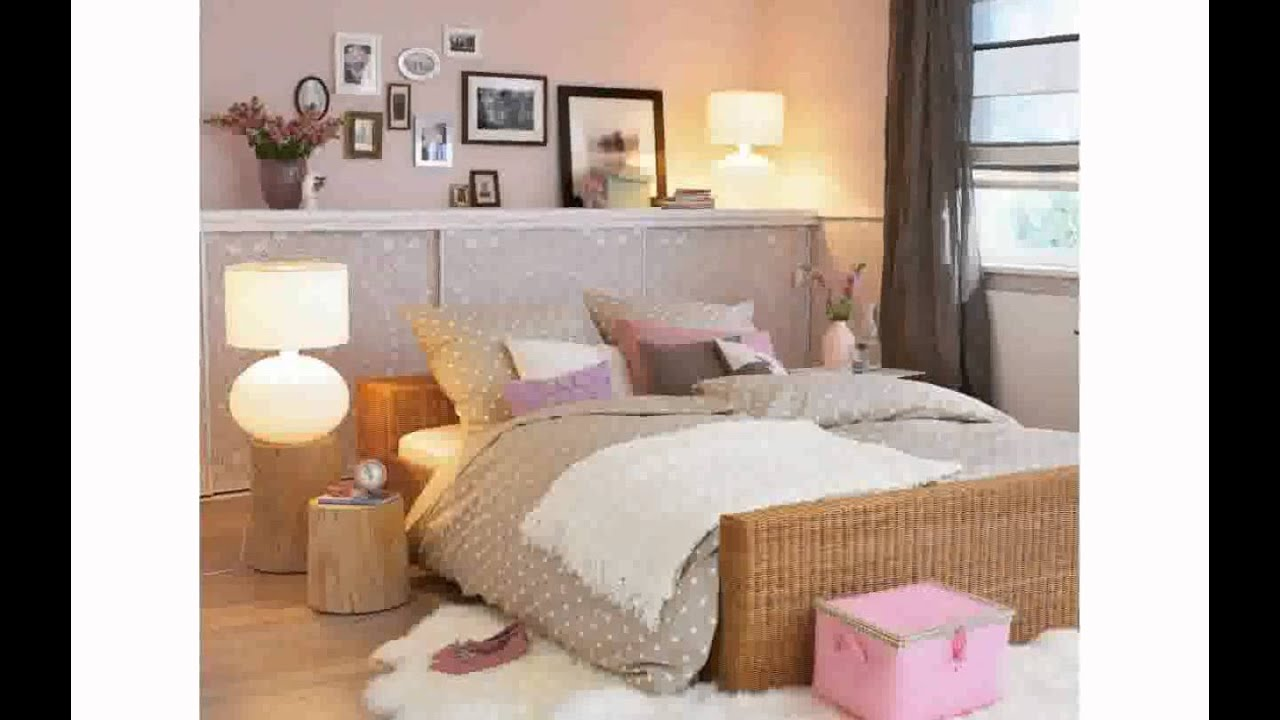 dekoration f r schlafzimmer youtube. Black Bedroom Furniture Sets. Home Design Ideas
