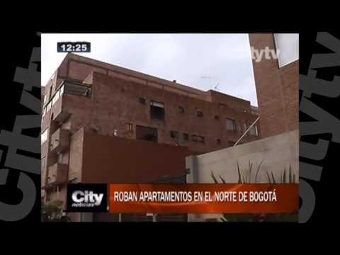 Roban apartamentos en el norte de Bogotá |Citytv | Abril 18