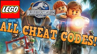 LEGO JURASSIC WORLD: ALL CHEAT CODES!!