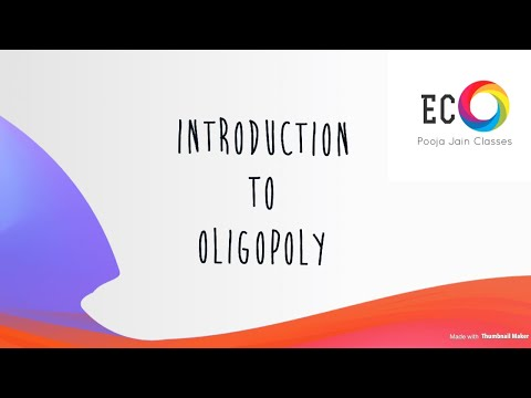 Oligopoly Market and Collusion Model