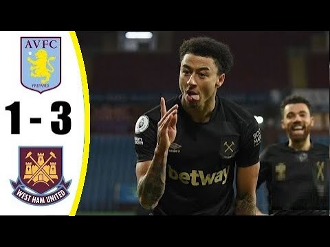 Aston Villa vs West Ham 1-3 Premier League ● 03/02/2021 HD
