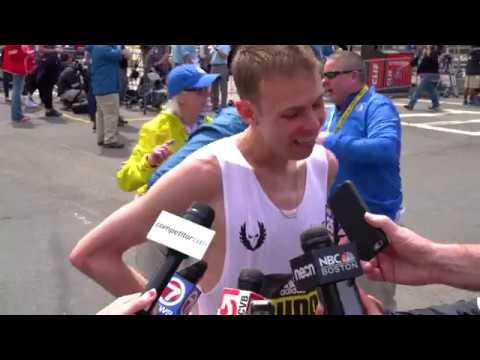 2017 Boston Marathon Post-Race Interview with Galen Rupp