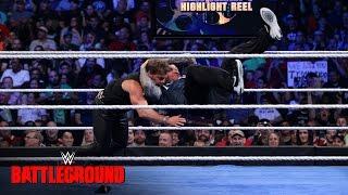 Randy Orton verpasst Chris Jericho einen RKO Outta Nowhere: WWE Battleground 2016 auf WWE Network