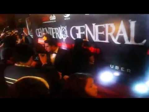 Artistas en Avant Premiere de Cementerio General 2