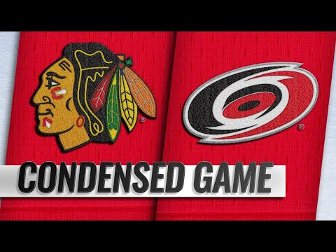 11/12/18 Condensed Game: Blackhawks @ Hurricanes