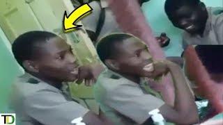 SCHOOLBOY caught on VIDEO threatening FEMALE TEACHER   Teach Dem