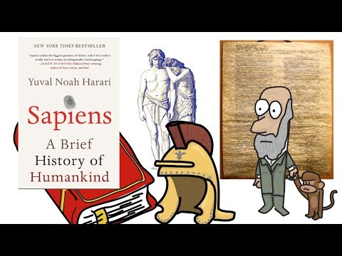 SAPIENS BY YUVAL NOAH HARARI | ANIMATED BOOK SUMMARY | PART 1 Mp3