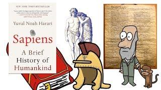 SAPIENS BY YUVAL NOAH HARARI | ANIMATED BOOK SUMMARY | PART 1