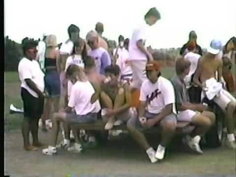 1992 Colts Practice water break July 14