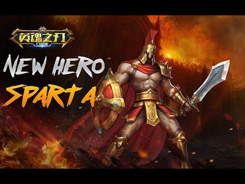 Heroes Evolved new hero Sparta