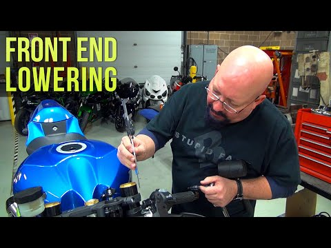 2017 GSX-R1000 S2B: Episode 9 (P2) Dragstrip Prep - Front End Lowering