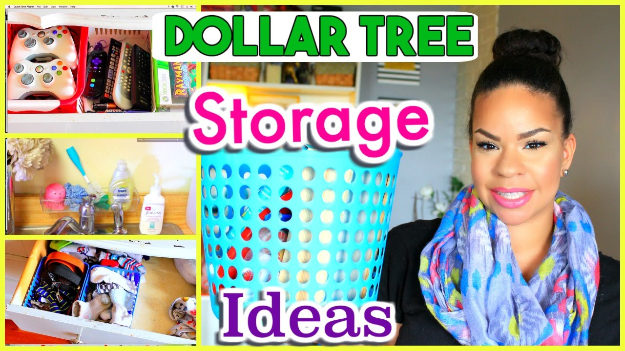 Best Ways To Use Dollar Tree Bins To Organize Your Home Sensational Finds Youtube