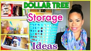 BEST WAYS TO USE DOLLAR TREE BINS TO ORGANIZE YOUR HOME | Sensational Finds
