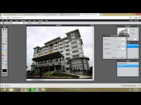 Hướng dẫn sử dụng photoshop online