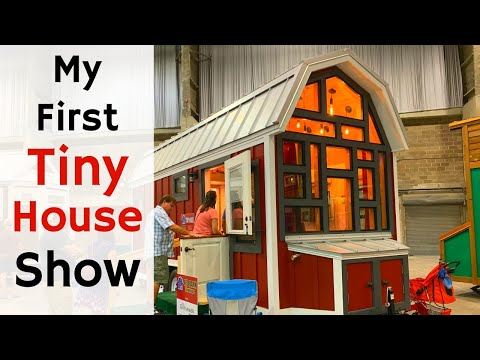 My First Tiny Home Tours | Great American Tiny House Show in Tampa, Florida