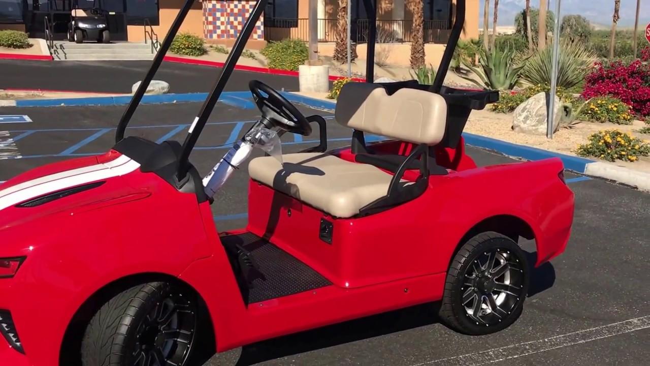 2017 Red Hot Chevy Camaro Golf Cart - YouTube Camero Golf Cart on nissan golf cart, cadillac golf cart, malibu golf cart, kawasaki golf cart, voyager golf cart, brady golf cart, impala golf cart, suburban golf cart, mustang golf cart, clark golf cart, express golf cart, custom golf cart, chevrolet golf cart, angel golf cart, marshall golf cart, challenger golf cart, firebird golf cart, concept golf cart,