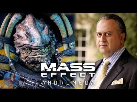 Mass Effect Andromeda | Voice Actor, Stanley Townsend as Drack | BIOWARE VOICES