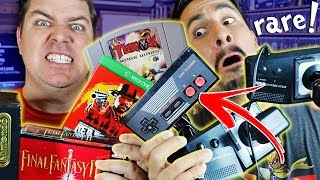 AWESOME Pick Ups! Retro Games and Toys SCORED in the wild - RARE NES controller