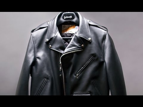 How a Schott Motorcycle Jacket is made - BrandmadeTV