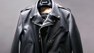 How a Schott Motorcycle Jacket is made - BRANDMADE.TV