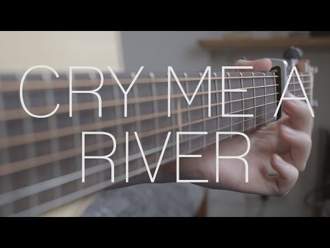 Justin Timberlake  Cry Me A River  Fingerstyle Guitar   James Bartholomew