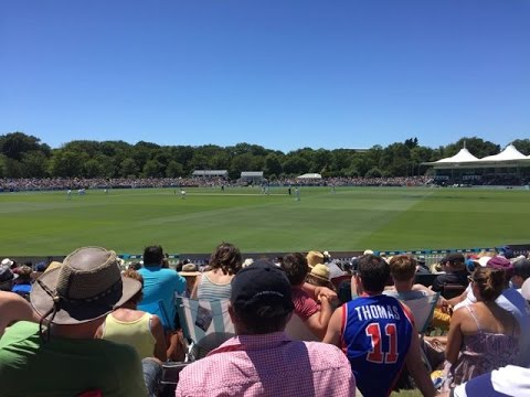 Hagley Oval - Boxing Day Test - Future Christchurch