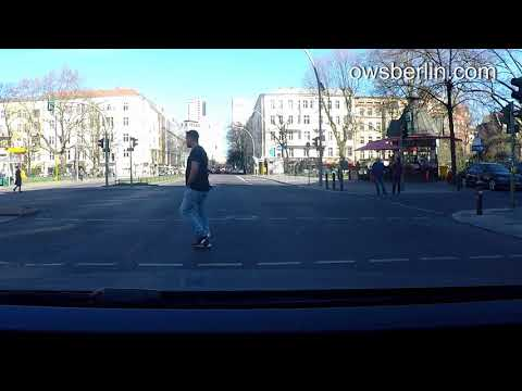 Driving in Berlin, Germany 2018. Автомобильная прогулка по немецкому городу Берлин.