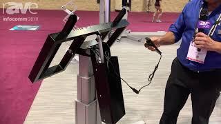 InfoComm 2019: Conen Mounts Showcases Motorized Height-Adjustable Display Mounts and Carts