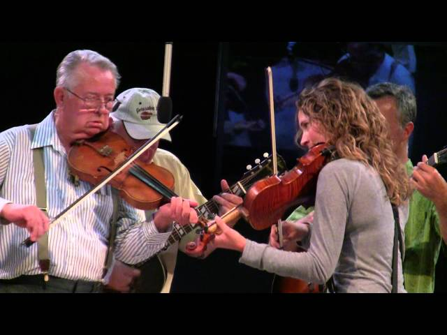 Hughie Smith & Martha Boyle ~ 2012 National Oldtime Fiddlers Contest ~ Twin Fiddles