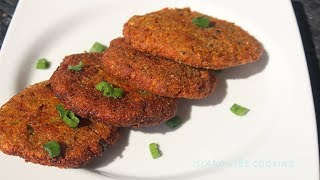 Easy Plantain and Carrot Fritters  Low Carb Recipe Island Vibe Cooking