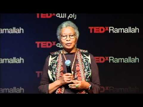 TEDxRamallah  Alice Walker آليس ووكر  How I Learned to Grow a Global Heart