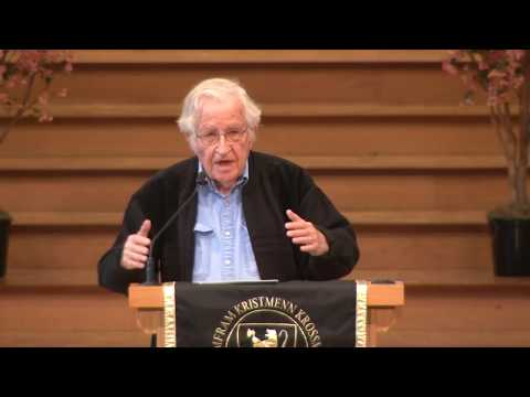 Noam Chomsky at St. Olaf College - May 4th 2018