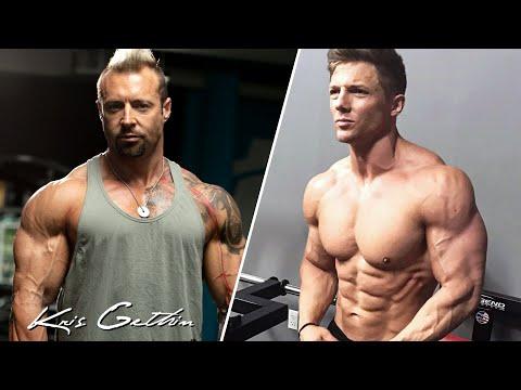 Steve Cook and Kris Gethin Blasting Shoulders
