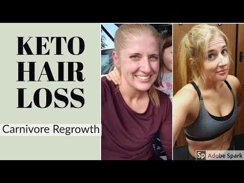 keto diet make hair thicker