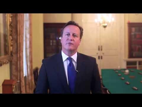Rosh Hashanah and Yom Kippur 2014 David Cameron message