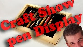 in this video idemostrate and show you how to build the pen display for your craft shows using my plans.. Like, comment and